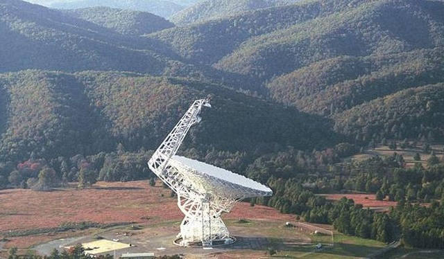 Telescopio Green Bank.