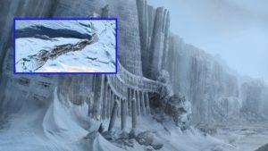 Enigmáticas estructuras aparecen en la Antártida.