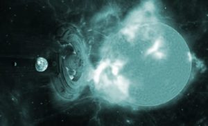 """¿Un objeto alienígena se Interpuso para evitar una poderosa """"Tormenta geomagnética"""" dirigida hacia la Tierra?"""