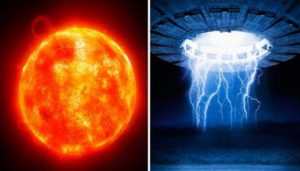 Un OVNI evito que tormenta solar se dirigiera a la tierra