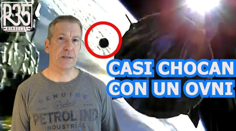 IMPACTANTE: CASI CHOCA NAVE SPACE X CONTRA UN OVNI