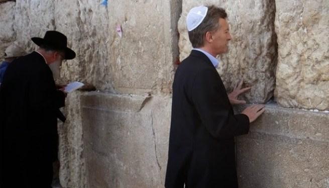 Resultado de imagen de macri judio