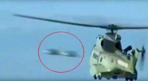 En video; Helicópteros de la policía de los ángeles luchando contra Ovni