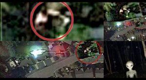 Hombre es secuestrado por OVNIs y Google Earth capta las imágenes