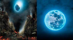 ¿Podría la Luna Azul representar el inicio de las profecías bíblicas?