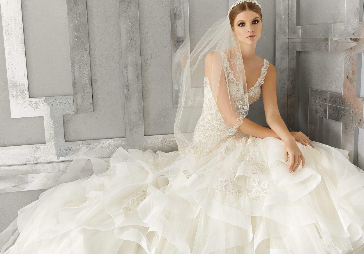 Mori Lee 8195 Mattea Wedding Dress