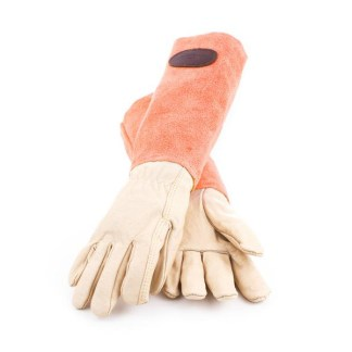 Bradleys Gants en cuir de daim Orange