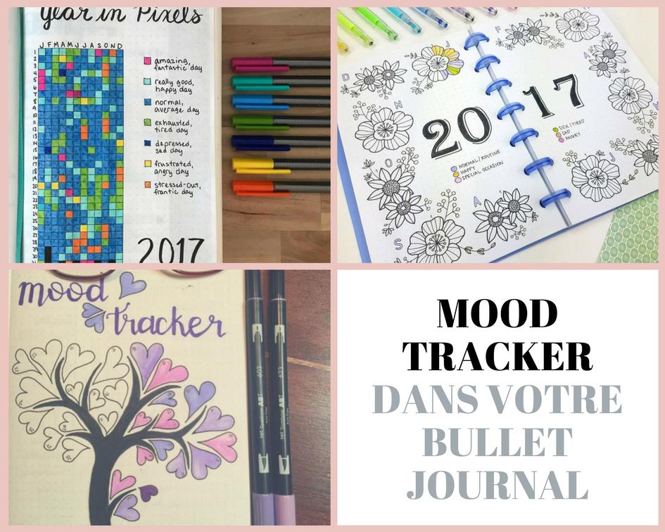 Mood tracker dans votre Bullet Journal