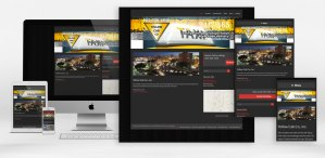 Yellow Cab Home page responsive