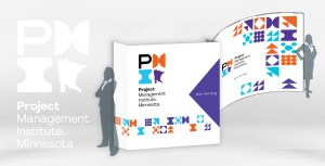 PMI MN Trade show booth