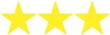 3 stjerner