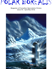 Polar Borealis #6 art by Jean-Pierre Normand poem by cat girczyc