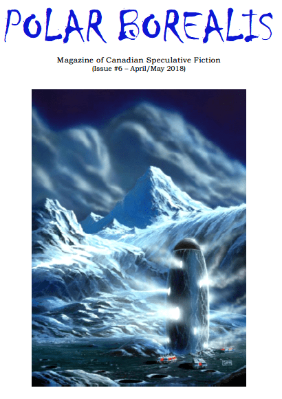 cover of Polar Borealis 6 2018 featuring art by  x from  Cat Girczyc's bibliography