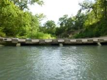 Low water crossing bridge.