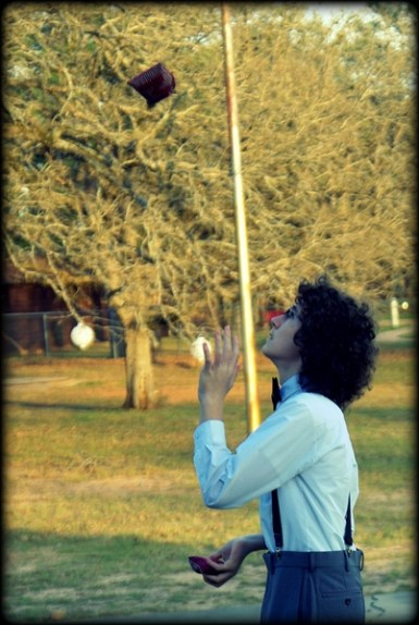 Juggling ... kinda ...