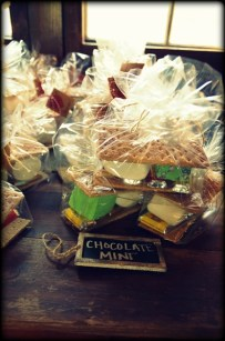 S'mores kit favors.