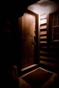 Cabin door.