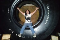 World's biggest tire ... and world's best combination of my interests on a t-shirt.