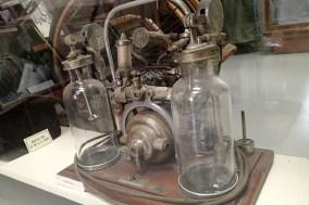 Lung machine.