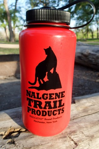 Even my water bottles have cats on them ... okay it's a mountain lion or whatever ... close enough.