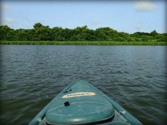 Kayak on Fort Parker Lake