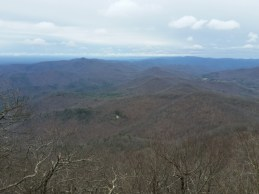 View from Blood Mountain.