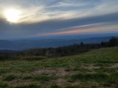 Sunset from Beauty Spot.