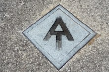 AT Symbol in Hot Springs