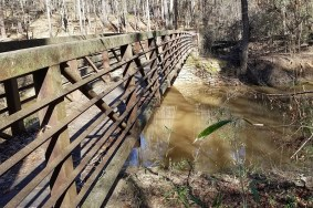 bridge over creek crossing