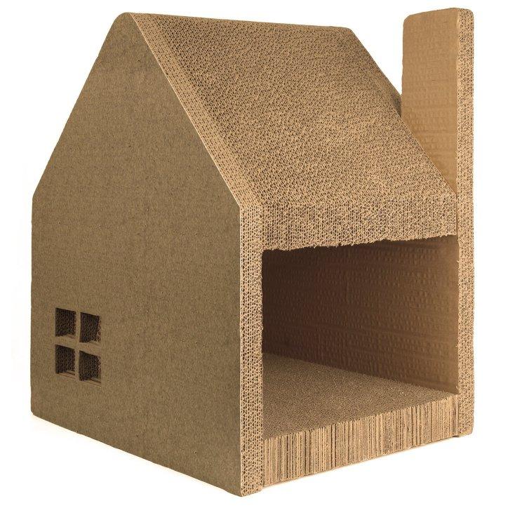 Cathouse & Cat Scratcher Station