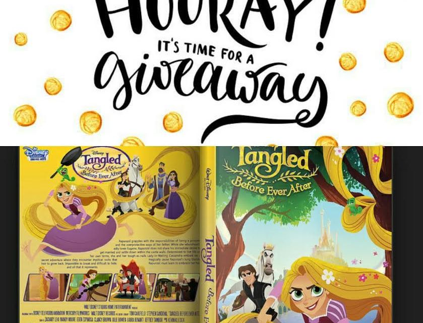 Tangled:  Before Ever After Review & Giveaway