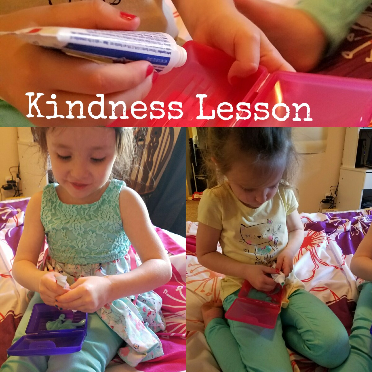 Kindness Lesson with Toothpaste:  Proverbs 12:18