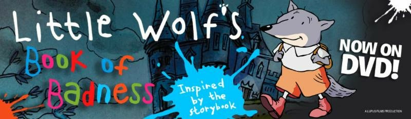 Review of Little Wolf's Book of Badness DVD and Giveaway