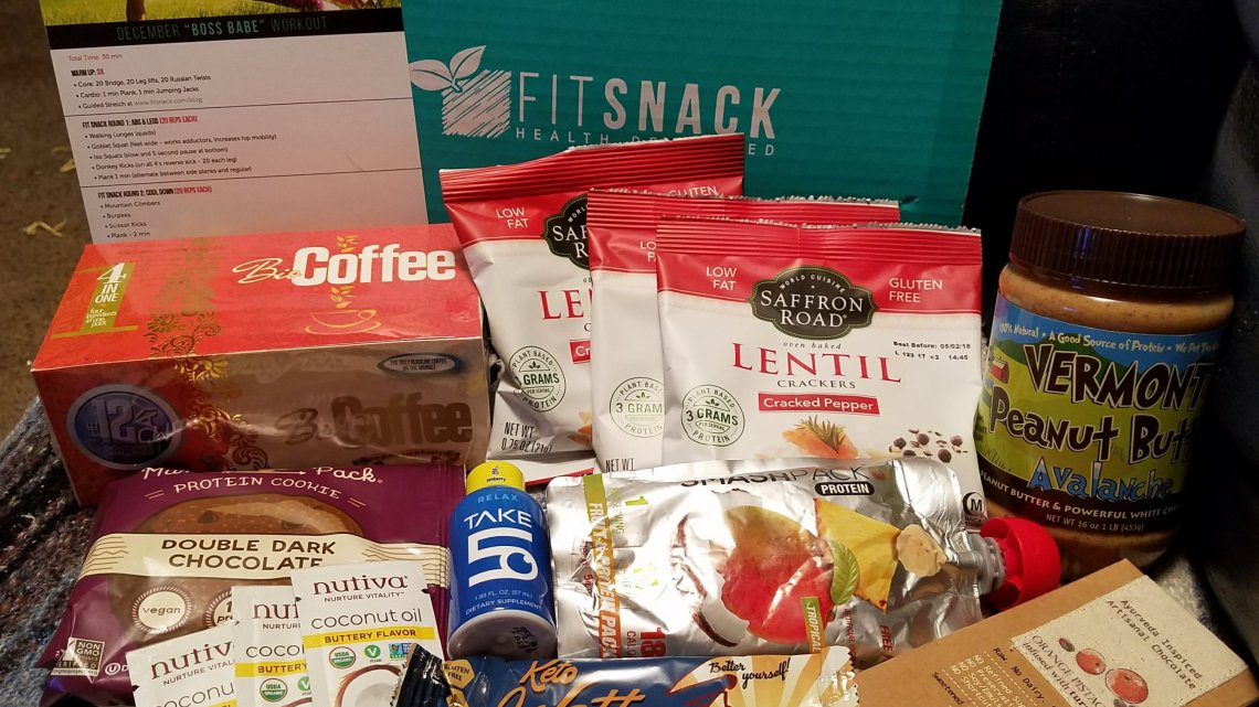 December 2017 FitSnack Unboxing