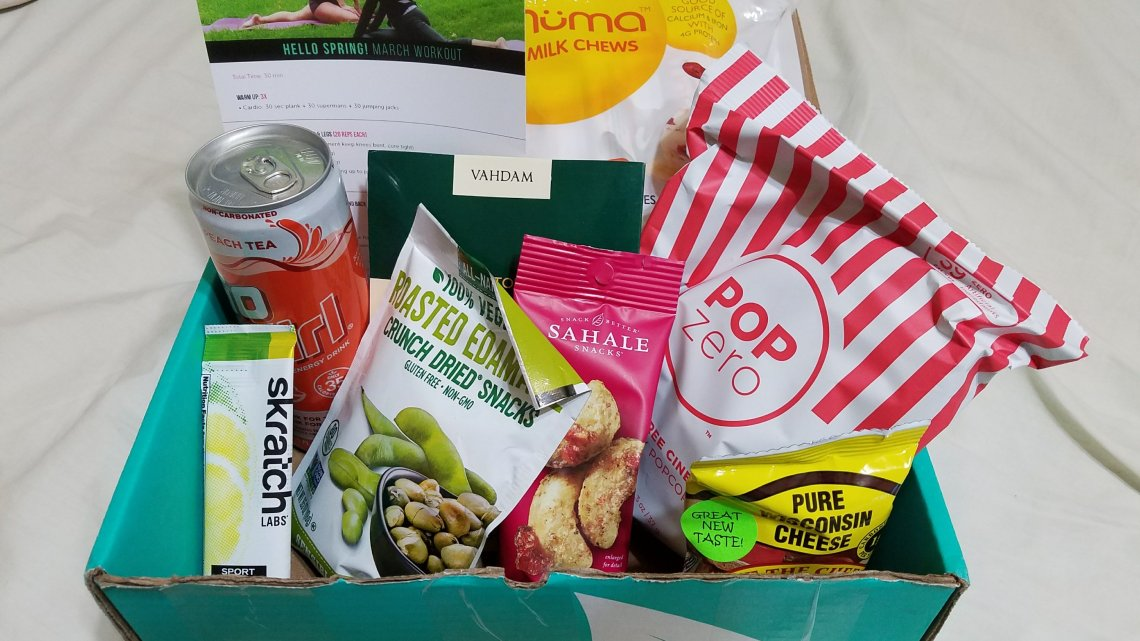 March 2018 FitSnack Unboxing