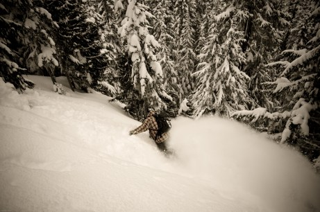 Scott Martin / Catskiing Canada @ Powder Mountain / Photo: Lisa Gover