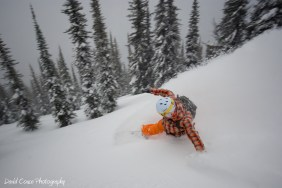 "Burning some turns at ""SICK Kirk"" Wilderness / Photo: David Couse"