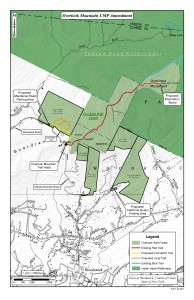 Overlook Mountain new parking & trails