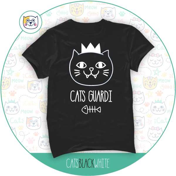 T-Shirt Cats Guardi