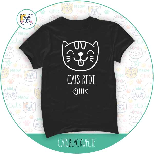 T-shirt Cats Ridi