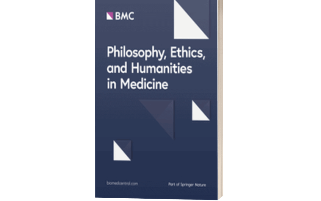 Philosophy, Ethics, and Humanities in Medicine(BioMedCentral, Springer Nature, UK)