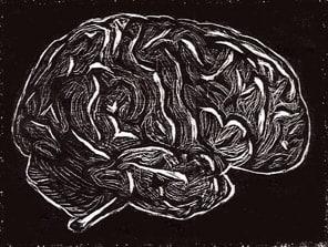 brain engraving small