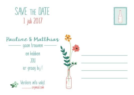 huwelijkskaart huwelijksuitnodiging kaart save the date