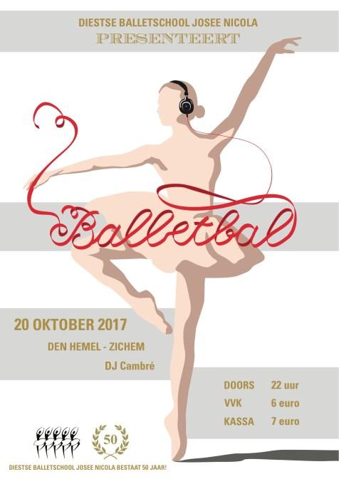 Poster balletbal