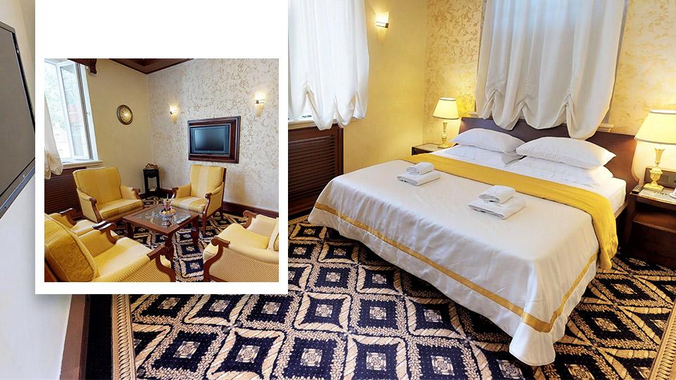 Historic Hotel Cattaro - Deluxe suite