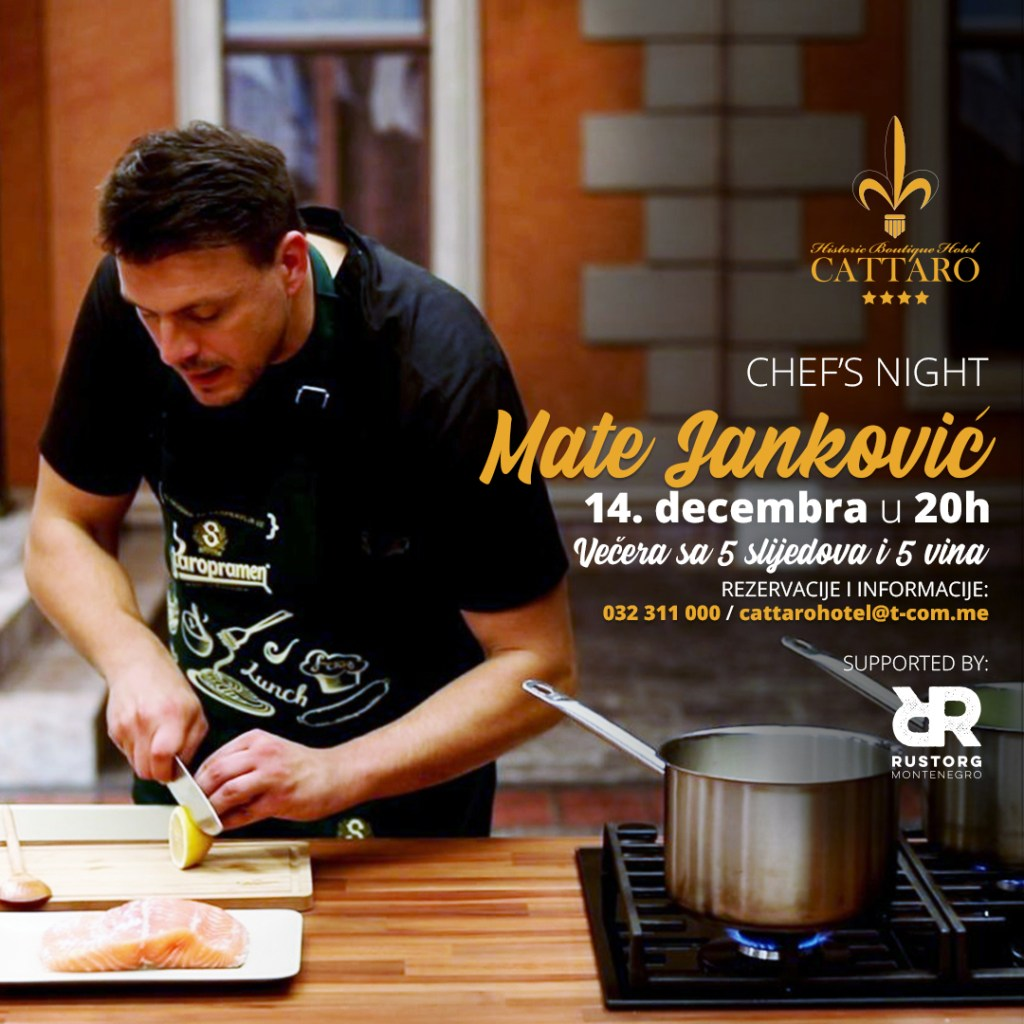 Chef's Night, Edition 2 with Mate Janković