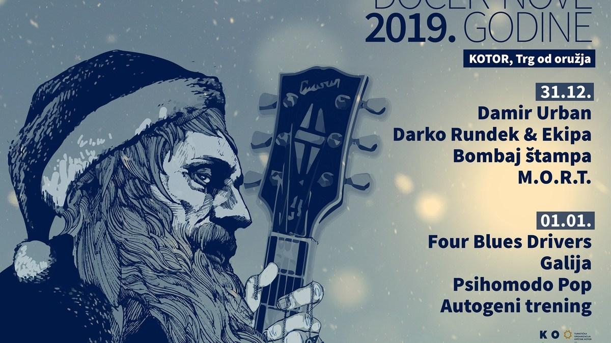 Celebrate New Year's Eve 2019 in Kotor