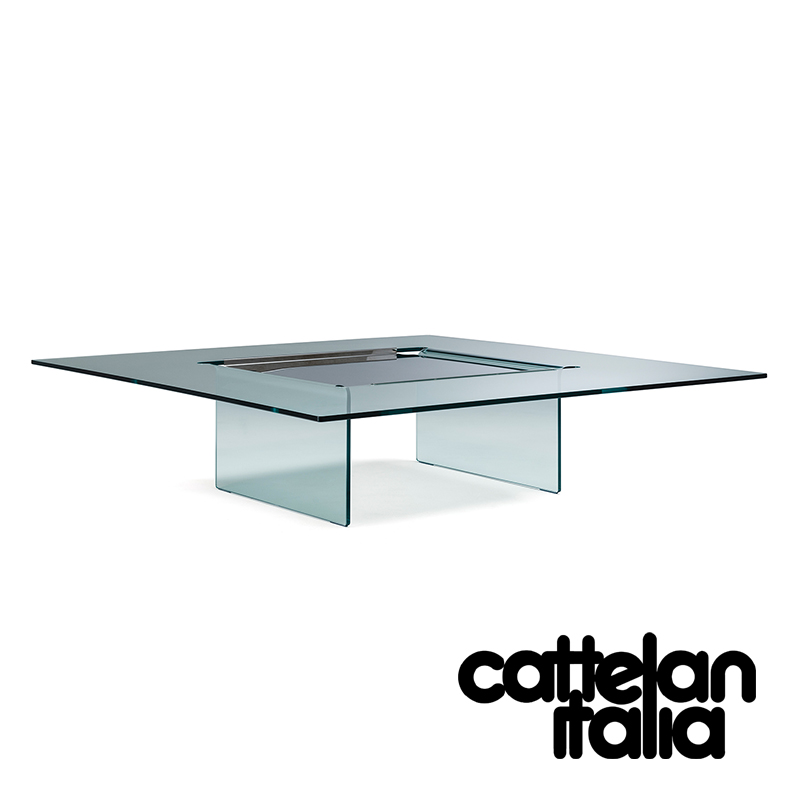 carre coffee table by cattelan italia