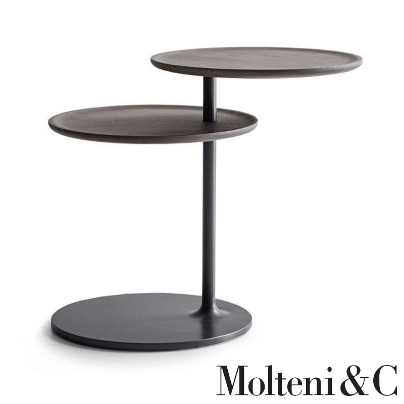 vicino table side table by molteni
