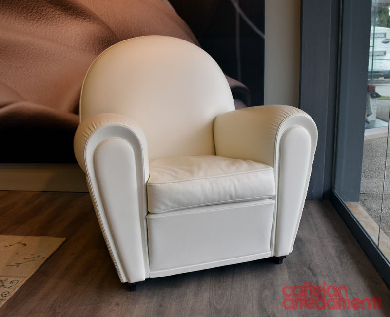 Gray And White Armchair